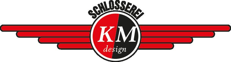 Schlosserei km design logo wohndesign tirol for Wohndesign exenberger